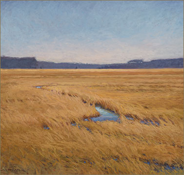 Wind on the Marsh painting | Cameron McIntyre